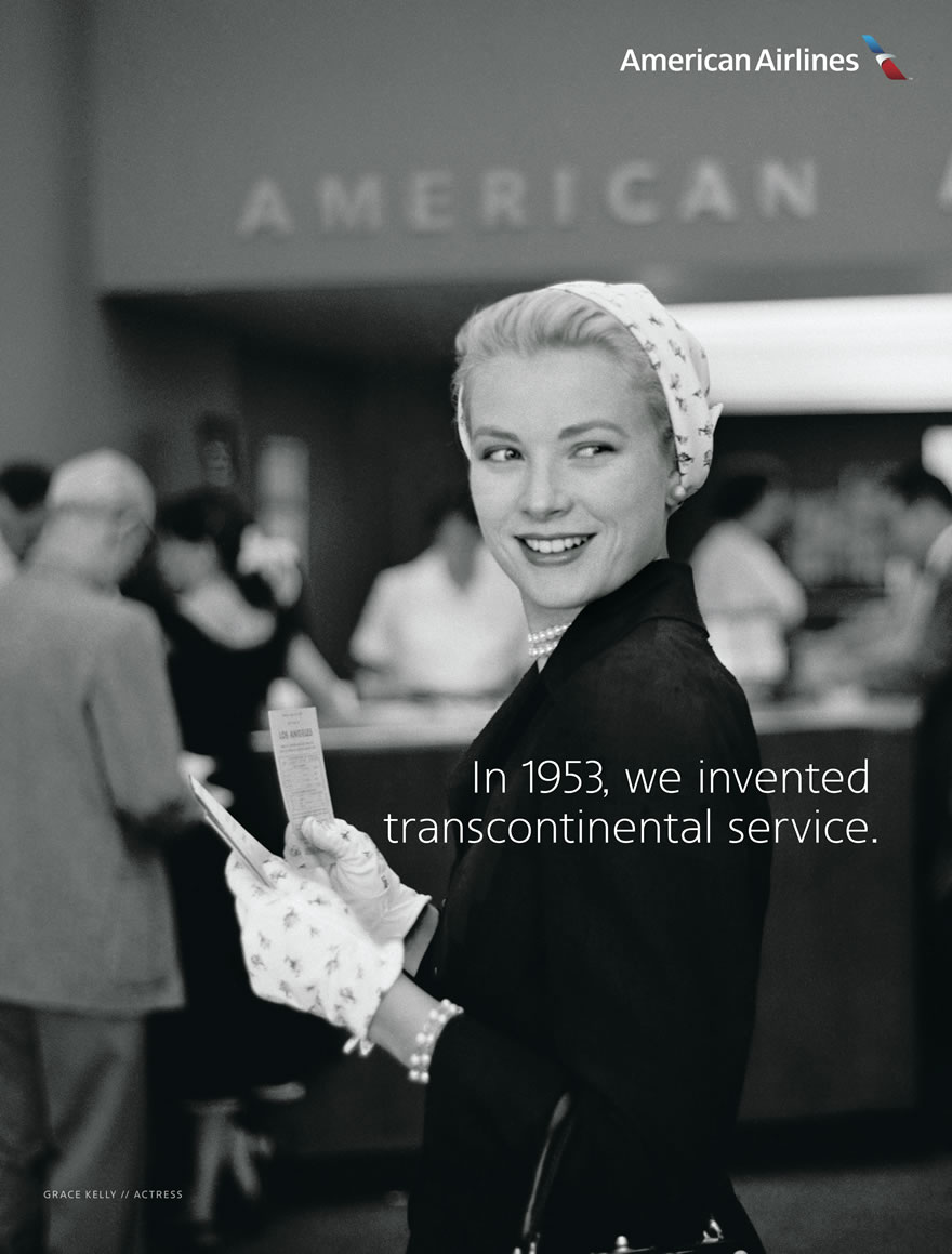 In 1953, we invented transcontinental service.